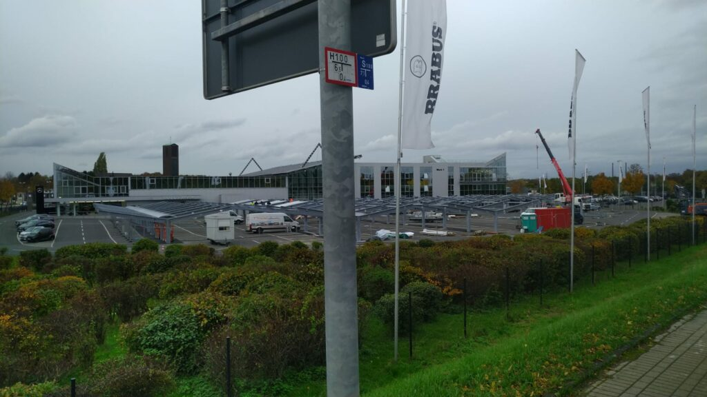 Montage overkapping Brabus Duitsland - TST Montage