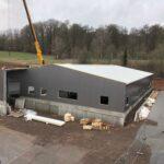 Staalmontage-Wandbeplating-Bedrijfspand-Gerolstein-Duitsland-TST Montage-02